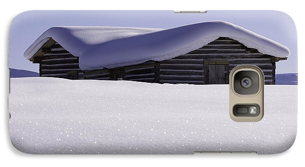 Galaxy Case featuring the photograph Honey Where Is The Snow Shovel? by Kristal Kraft
