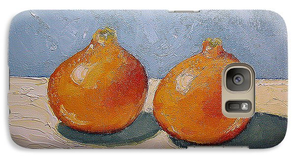 Galaxy Case featuring the painting Honeybells - The Perfect Couple by Katherine Miller