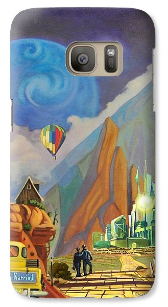 Galaxy Case featuring the painting Honeymoon In Oz by Art West
