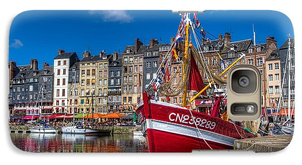 Galaxy Case featuring the photograph Honfleur Normandy by Tim Stanley
