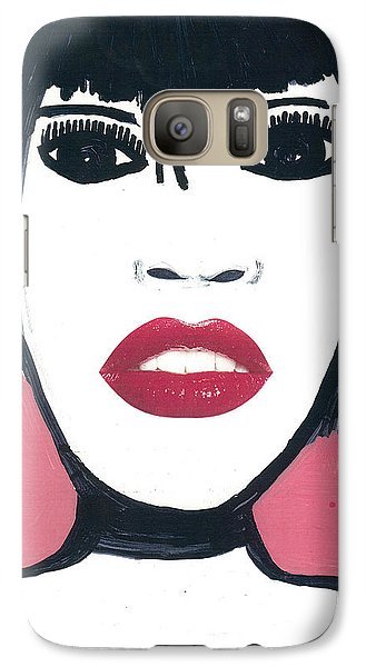 Galaxy Case featuring the drawing Hong Kong Kiss by Don Koester