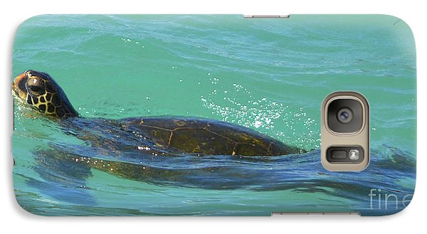Galaxy Case featuring the photograph Honu II by Suzette Kallen