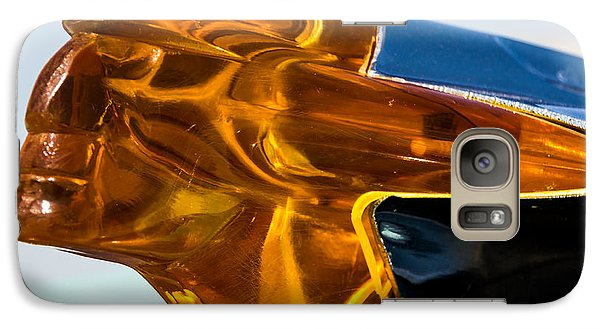 Galaxy Case featuring the photograph Hood Ornament  by Jay Stockhaus