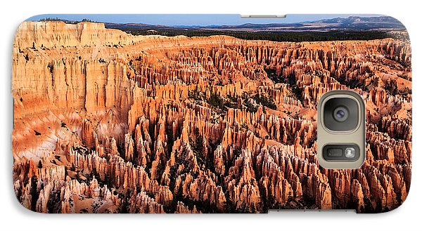 Galaxy Case featuring the photograph Hoodoos At Sunrise by Peta Thames