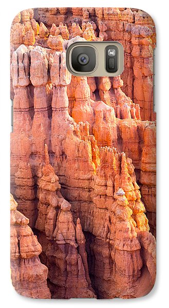 Galaxy Case featuring the photograph Hoodoos Of Bryce by Jim Snyder