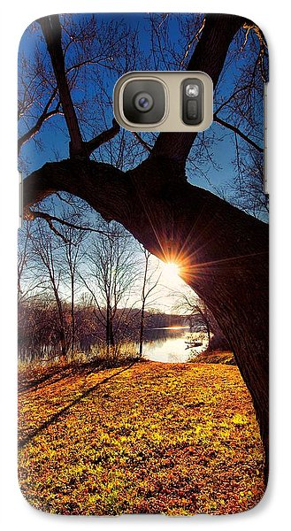 Galaxy Case featuring the photograph Hook Or Crook by Robert McCubbin