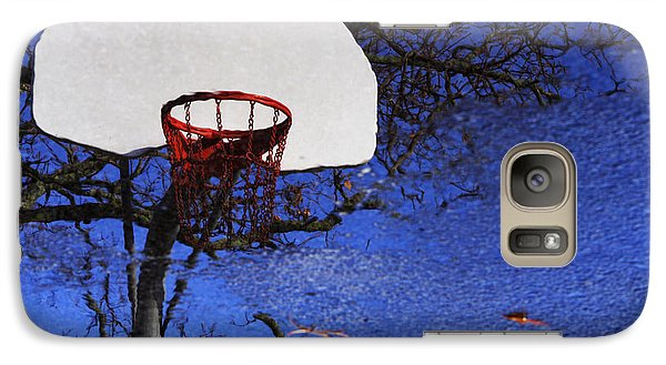 Galaxy Case featuring the photograph Hoop Dreams by Jason Politte