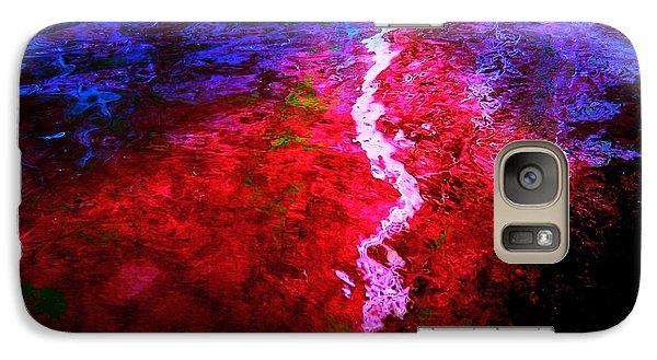 Galaxy Case featuring the digital art Hope For A Broken Heart - Healing Art by Absinthe Art By Michelle LeAnn Scott