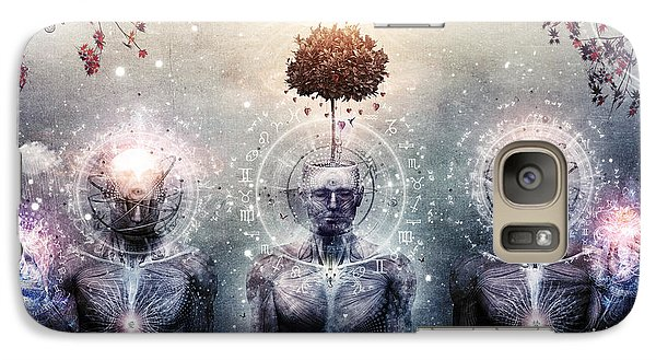 Hope For The Sound Awakening Galaxy Case by Cameron Gray