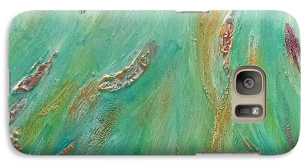 Galaxy Case featuring the painting Hope by Lou Belcher