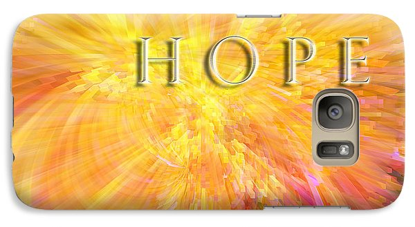 Galaxy Case featuring the digital art Hope by Margie Chapman