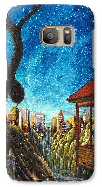 Galaxy Case featuring the painting Hope by Matt Konar
