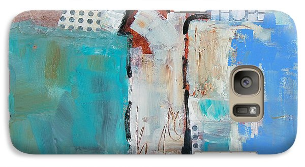 Galaxy Case featuring the painting Hope by Ron Stephens