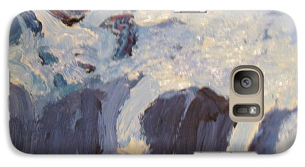 Galaxy Case featuring the painting Hope Sleeping by Shea Holliman