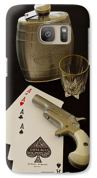 Galaxy Case featuring the photograph Hope You Ain't Cheatin by James C Thomas