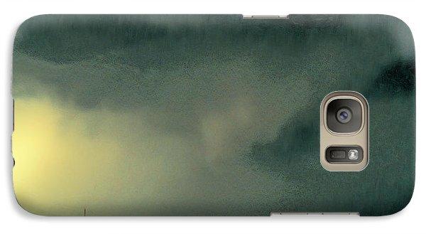 Galaxy Case featuring the digital art Horizon-1 by David Blank