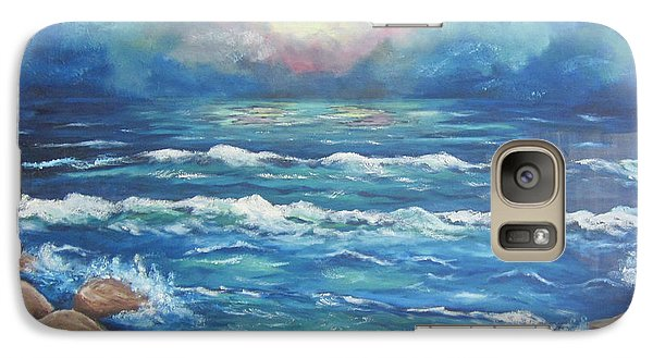 Galaxy Case featuring the painting Horizons 2 by Cheryl Pettigrew