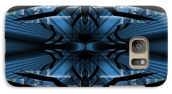 Galaxy Case featuring the digital art Horizons Past 1 by Brian Johnson