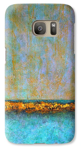 Galaxy Case featuring the painting Horizontal Reef by Jim Whalen