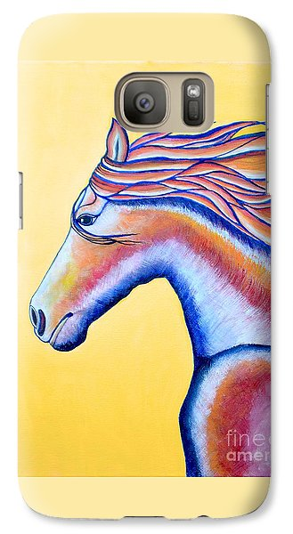 Galaxy Case featuring the painting Horse 1 by Joseph J Stevens