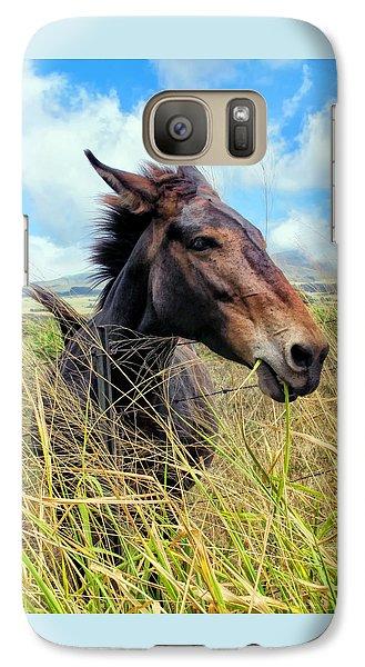 Galaxy Case featuring the photograph Horse 6 by Dawn Eshelman