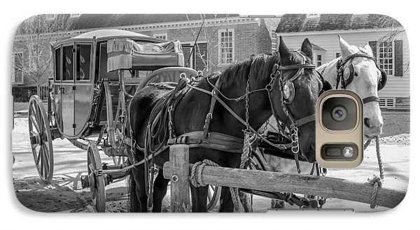 Galaxy Case featuring the photograph Horse And Carriage  by Trace Kittrell