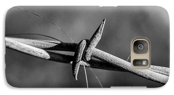 Galaxy Case featuring the photograph Horse Hair by Jay Stockhaus