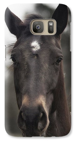 Horse With Gentle Eyes Galaxy S7 Case