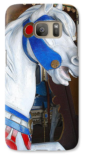 Galaxy Case featuring the photograph Horse With No Name by Mary Beth Landis
