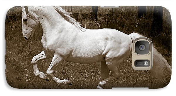 Galaxy Case featuring the photograph Horsepower D5779 by Wes and Dotty Weber