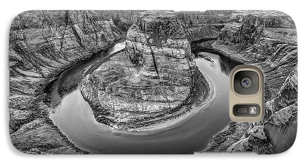 Horseshoe Bend Arizona Black And White Galaxy S7 Case