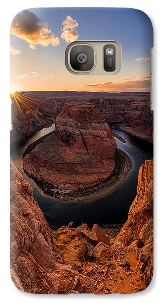 University Of Arizona Galaxy S7 Case - Horseshoe Bend by Chad Dutson