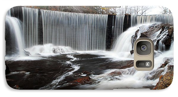 Galaxy Case featuring the photograph Horseshoe Falls Pano 2 by Dan Myers