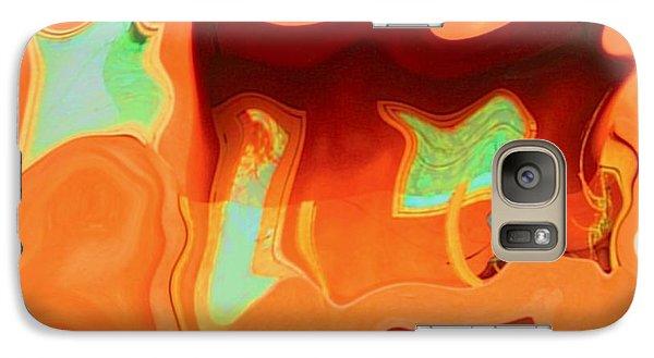 Galaxy Case featuring the photograph Horseshoe Gambler by Nick David