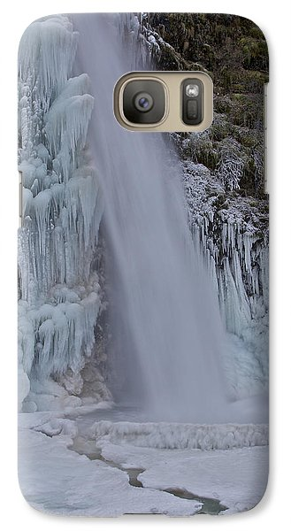 Galaxy Case featuring the photograph Horsetail Falls 120813 Cu B by Todd Kreuter
