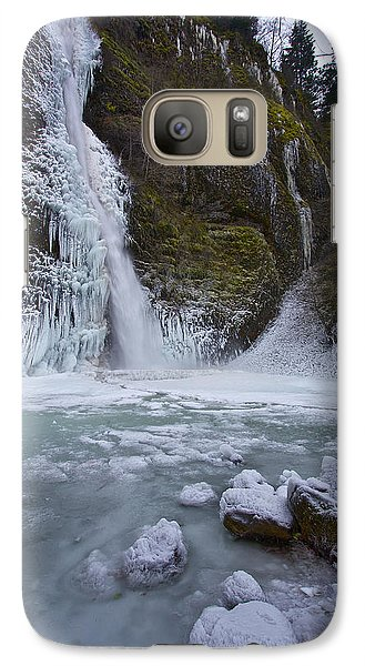 Galaxy Case featuring the photograph Horsetail Falls 120813b by Todd Kreuter
