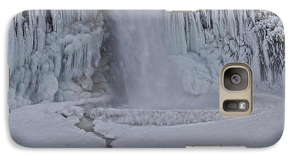 Galaxy Case featuring the photograph Horsetail Falls Cu A by Todd Kreuter