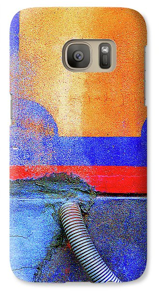 Galaxy Case featuring the photograph Hosed by Newel Hunter