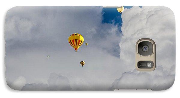 Galaxy Case featuring the photograph Hot Air Rising by Dennis Bucklin