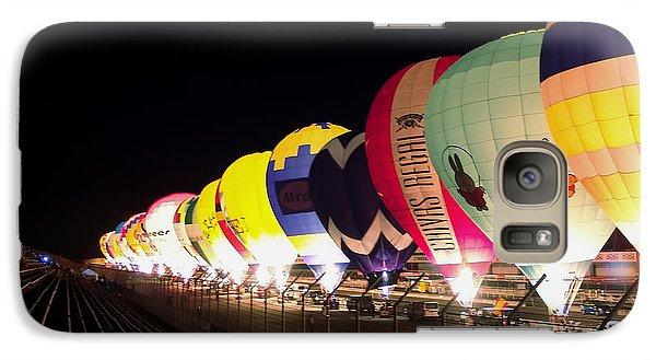 Galaxy Case featuring the photograph Balloon Glow by John Swartz