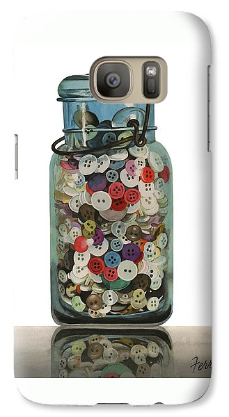 Galaxy Case featuring the painting Hot Buttons by Ferrel Cordle