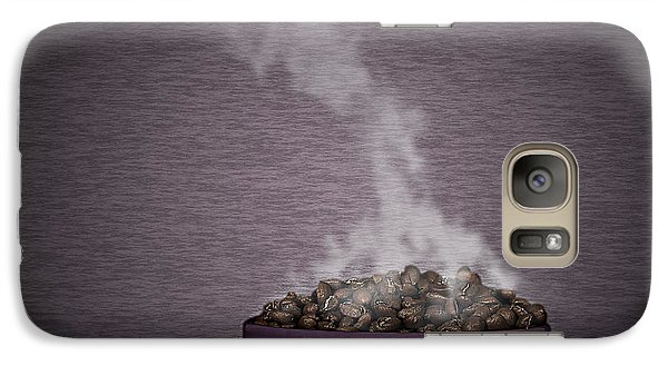 Galaxy Case featuring the photograph Hot Coffee by Gert Lavsen