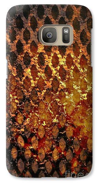Galaxy Case featuring the digital art Hot Grill by Darla Wood