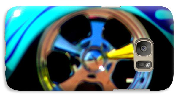 Galaxy Case featuring the photograph Hot Hot Wheels  by Bobbee Rickard