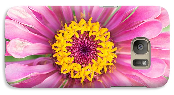 Hot Pink Zinnia Galaxy S7 Case