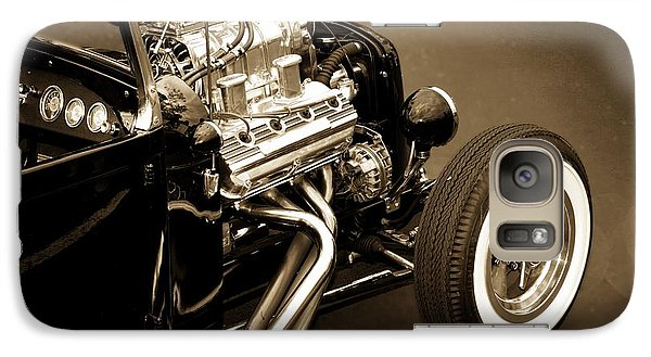 Vintage Car Galaxy Case featuring the photograph Hot Rod Power  by Aaron Berg