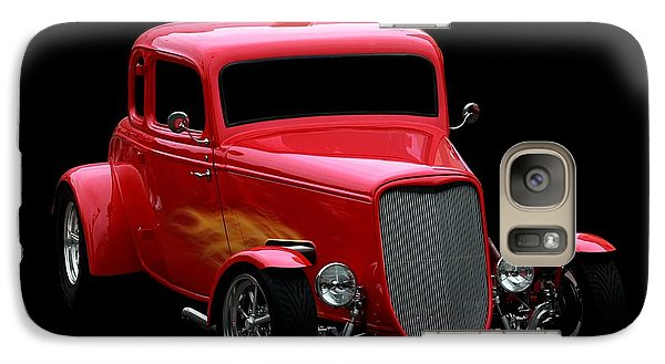 Vehicle Galaxy Case featuring the photograph Hot Rod Red by Aaron Berg