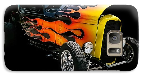 Galaxy Case featuring the photograph Hot Rod by Victor Montgomery