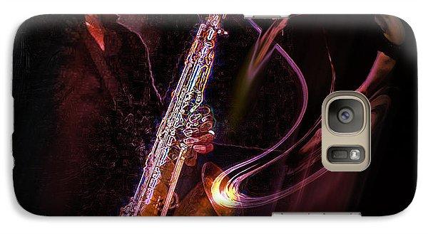 Galaxy Case featuring the photograph Hot Sax by Glenn Feron