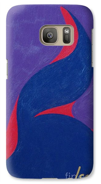 Galaxy S7 Case featuring the painting Hot Tasty Freeze by Rod Ismay
